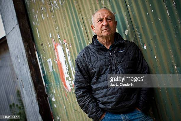 Founder and owner of Patagonia Yvon Chouinard is photographed for Los Angeles Times on February 25 2011 in Ventura California Published Image