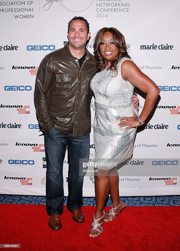 Founder & CEO of NAPW Matt Proman and <a gi-track='captionPersonalityLinkClicked' href=/galleries/search?phrase=Star+Jones&family=editorial&specificpeople=202645 ng-click='$event.stopPropagation()'>Star Jones</a> attend NAPW 2014 Conference at Marriott Marquis Hotel on April 24, 2014 in New York City.
