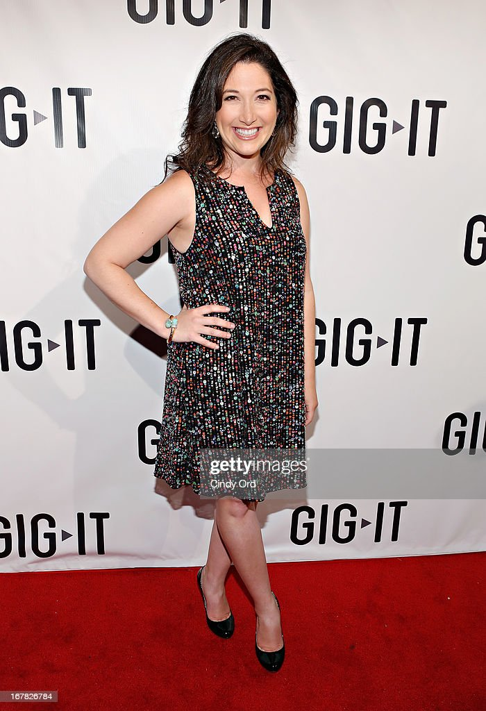 Founder & CEO of Zuckerberg Media, Randi Zuckerberg attends the Gig-It Launch Party at Capitale Bowery on April 30, 2013 in New York City.
