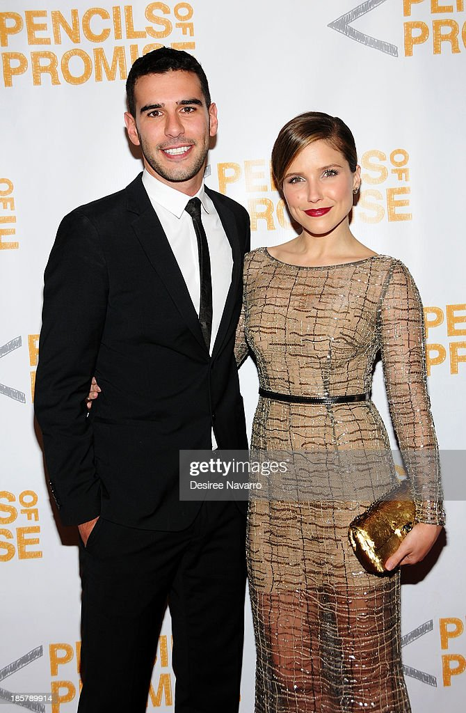 Founder & CEO, Pencils of Promise Adam Braun and actress <a gi-track='captionPersonalityLinkClicked' href=/galleries/search?phrase=Sophia+Bush&family=editorial&specificpeople=203180 ng-click='$event.stopPropagation()'>Sophia Bush</a> attend the 3rd annual Pencils of Promise Gala at Guastavino's on October 24, 2013 in New York City.