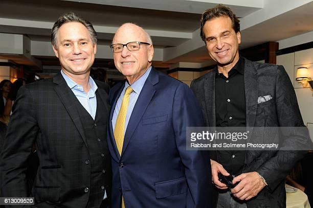 Founder DuJourMedia Jason Binn Douglas Elliman Howard Lorber and Dr Richard Firshein attend an intimate dinner to welcome de Grisogono's Fawaz Gruosi...