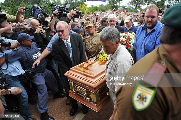 CONTENT] AWB founder Eugene Terreblanche's funeral in Ventersdorp North West province of South Africa