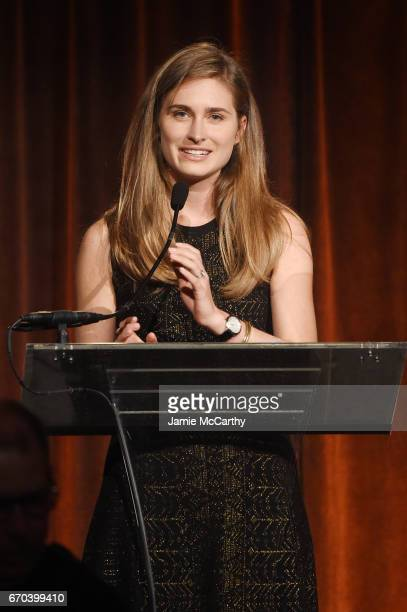 Founder FEED Lauren Bush speaks on stage at the Food Bank for New York City CanDo Awards Dinner 2017 on April 19 2017 in New York City