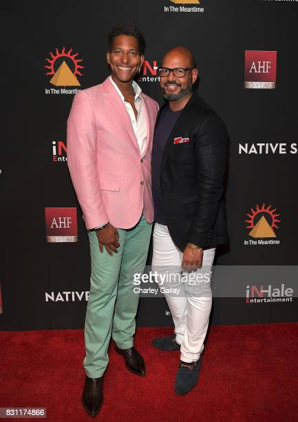 Founder iNHale Entertainment Nathan Hale Williams and Founder Native Son Emil Wilbekin attend AIDS Healthcare Foundation iNHale Entertainment Partner...