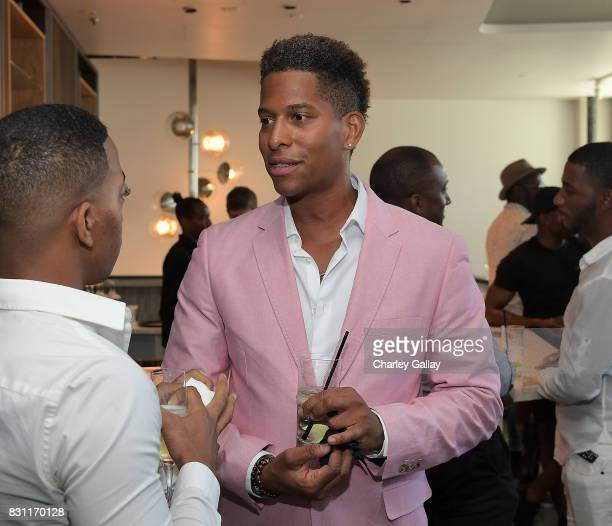 Founder iNHale Entertainment Nathan Hale Williams attends Native Son Hosts Its First Los Angeles Event On August 13th Inpartnership with AIDS...