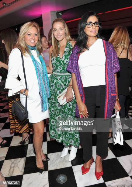 WCRF Founder Jamie Tisch and Rachel Roy at SAKS FIFTH AVENUE and WOMENS CANCER RESEARCH FUND celebration of KEY TO THE CURE with MISSONI at Mr Chow...