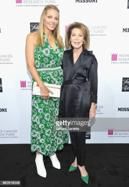 WCRF Founder Jamie Tisch and WCRF CoFounder Marion Laurie at SAKS FIFTH AVENUE and WOMEN'S CANCER RESEARCH FUND celebration of KEY TO THE CURE with...