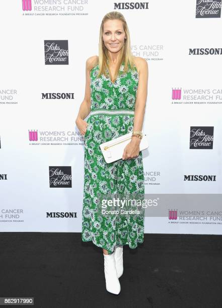 WCRF Founder Jamie Tisch at SAKS FIFTH AVENUE and WOMEN'S CANCER RESEARCH FUND celebration of KEY TO THE CURE with MISSONI at Mr Chow on October 18...