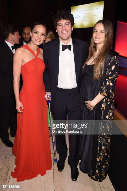 DKMS founder Katharina Harf Alejandro Santo Domingo and DKMS Ambassador Charlotte Santo Domingo attend 11th Annual DKMS 'BIG LOVE' Gala on April 27...