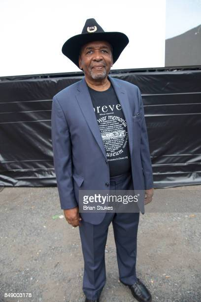 Founder of African American Civil War Museum Dr Frank Smith attends Dick Gregory's Parade Of Life at The Legendary Howard Theatre on September 17...