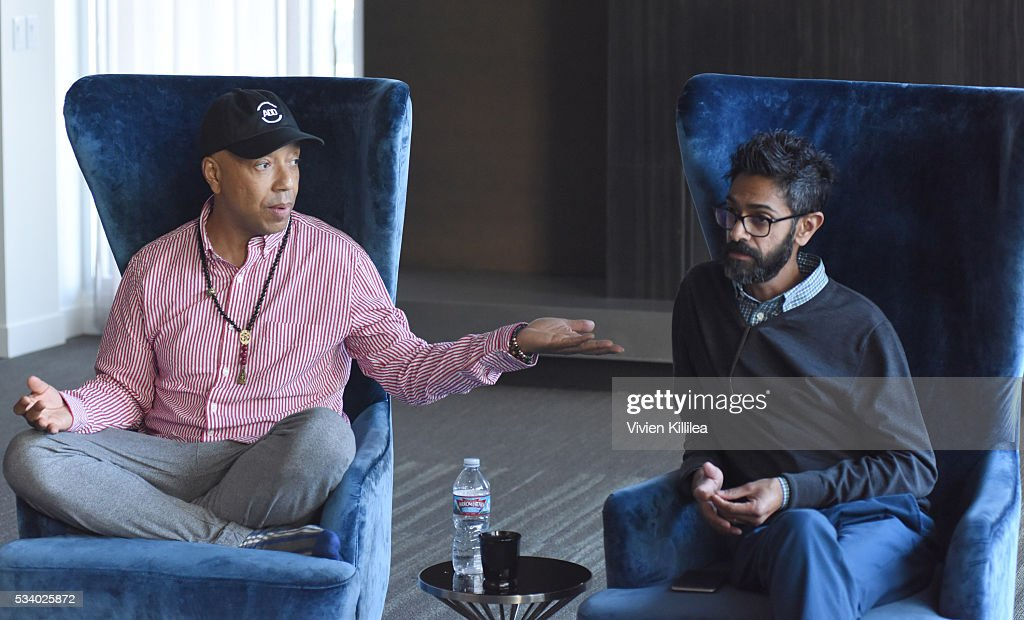 Founder of All Def Digital Russell Simmons and President and COO of All Def Digital Sanjay Sharma speak at the Fast Company Creativity Counter-Conference 2016 on May 24, 2016 in Los Angeles, California.