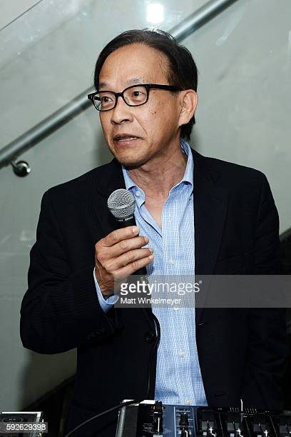 Founder of ARYA Curcumin George Uy attends ARYA Curcumin Presents The Yellow Social at Private Residence on August 20 2016 in Los Angeles California