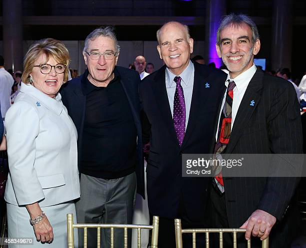 Founder of Autism Speaks Suzanne Wright actor Robert De Niro Founder of Autism Speaks Bob Wright and Engineering Director at Google David Glazer...