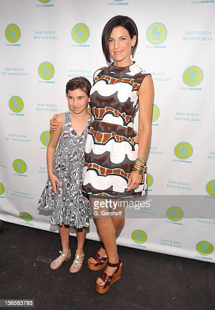 Founder of Baby Buggy Jessica Seinfeld and daughter Sascha Seinfeld attend the 10th Anniversary Baby Buggy Bedtime Bash hosted by Jessica and Jerry...