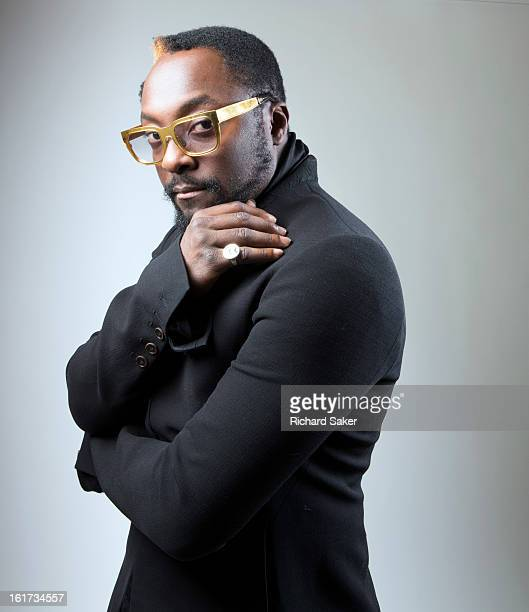 Founder of Black Eyed Peas musician and producer William is photographed for the Observer on December 10 2012 in London England