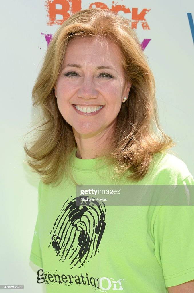 Founder of Children for Children Silda Wall attends the Points of Light generationOn Block Party on April 18 2015 in Los Angeles California