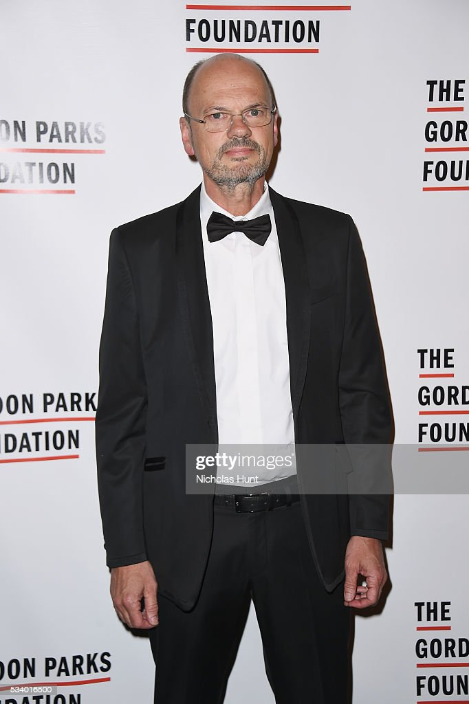 Founder of C/O Berlin Stephan Erfurt attends the 2016 Gordon Parks Foundation awards dinner at Cipriani 42nd Street on May 24, 2016 in New York City.