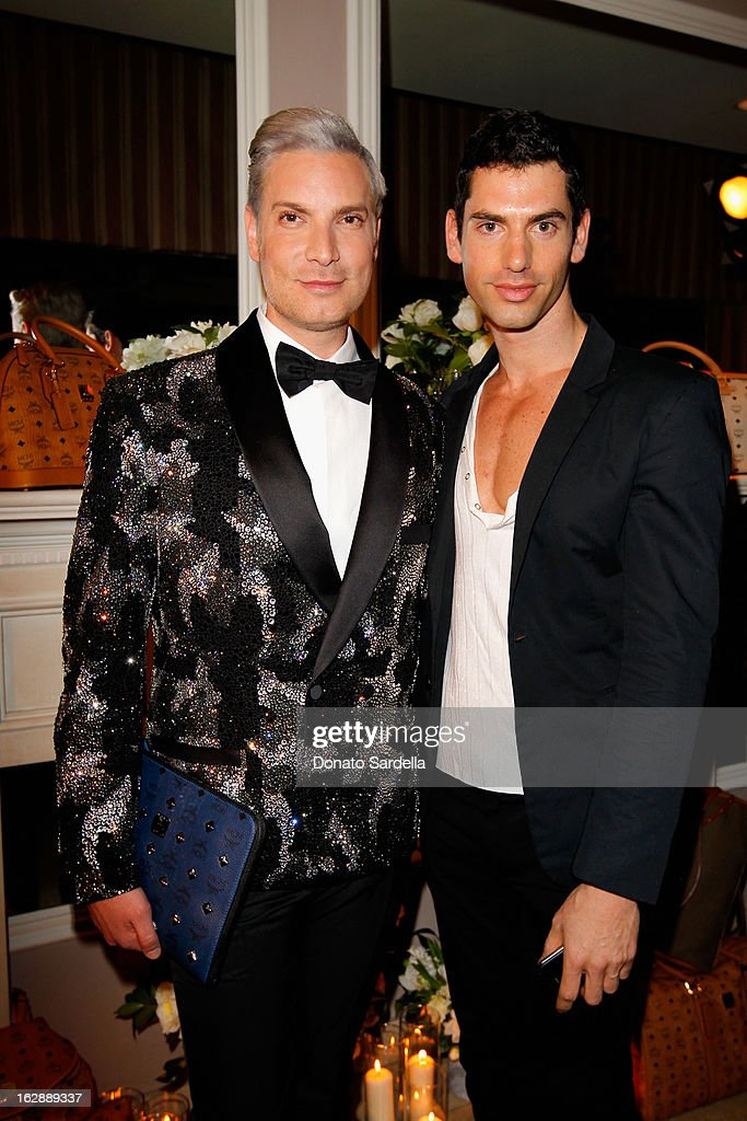 Founder of Decades, Cameron Silver and designer Yotam Solomon attend the Dukes Of Melrose launch hosted by Decades, Harper's BAZAAR, and MCM on February 28, 2013 in Los Angeles, California.