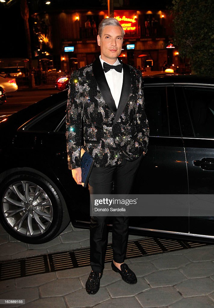 Founder of Decades, Cameron Silver attends the Dukes Of Melrose launch hosted by Decades, Harper's BAZAAR, and MCM on February 28, 2013 in Los Angeles, California.