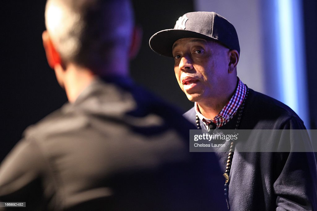 Founder of Def Jam Records Russell Simmons attends IMS Engage in partnership wtih W hotels worldwide at W Hollywood on April 17, 2013 in Hollywood, California.