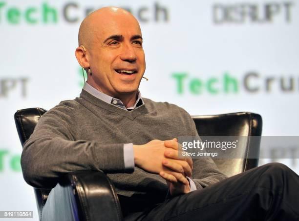 Founder of DST Global Yuri Milner speaks onstage during TechCrunch Disrupt SF 2017 at Pier 48 on September 18 2017 in San Francisco California