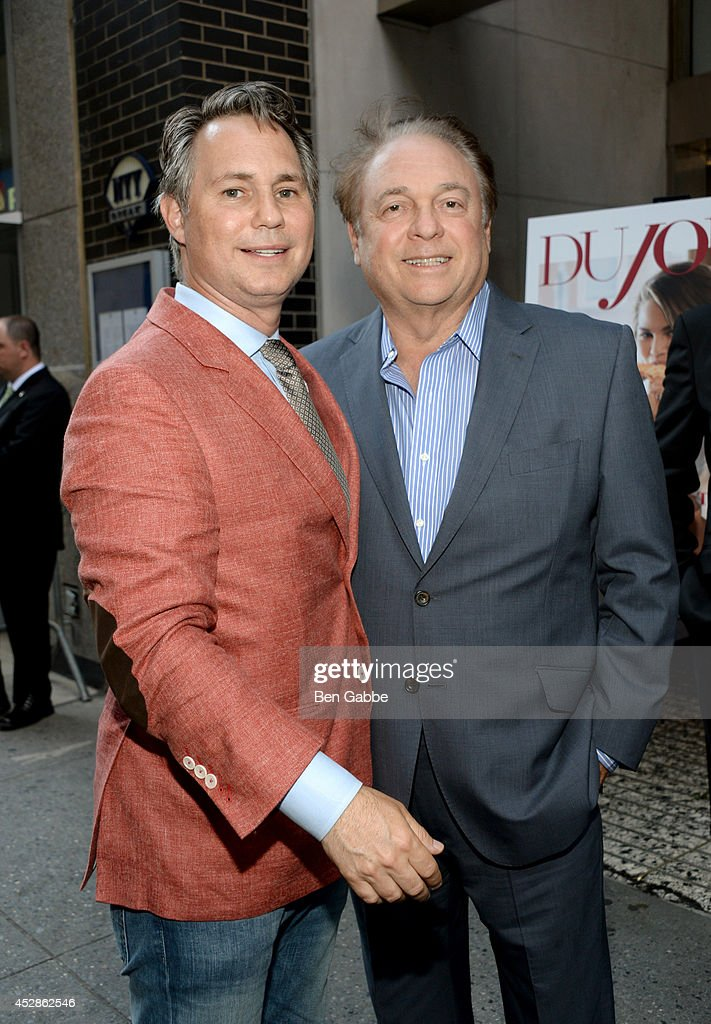 Founder of DuJour Media Group Jason Binn (L) and Stephen Zack attend DuJour Magazine and NYY Steak celebrating Chrissy Teigen with FENDI timepieces and Moet Ice on July 28, 2014 in New York City.