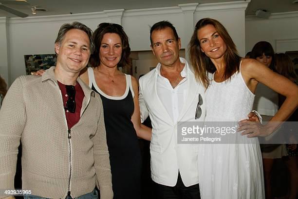 Founder of DuJour Media Group LLC publisher of DuJour magazine Jason Binn TV Personality LuAnn De Lesseps Founder at Notar Hospitality Restaurateur...