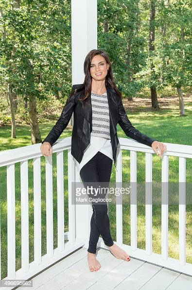 Founder of Fit Strong and Sexy Amanda Russell is photographed for Resident Magazine on August 04 2015 in East Hampton City PUBLISHED IMAGE