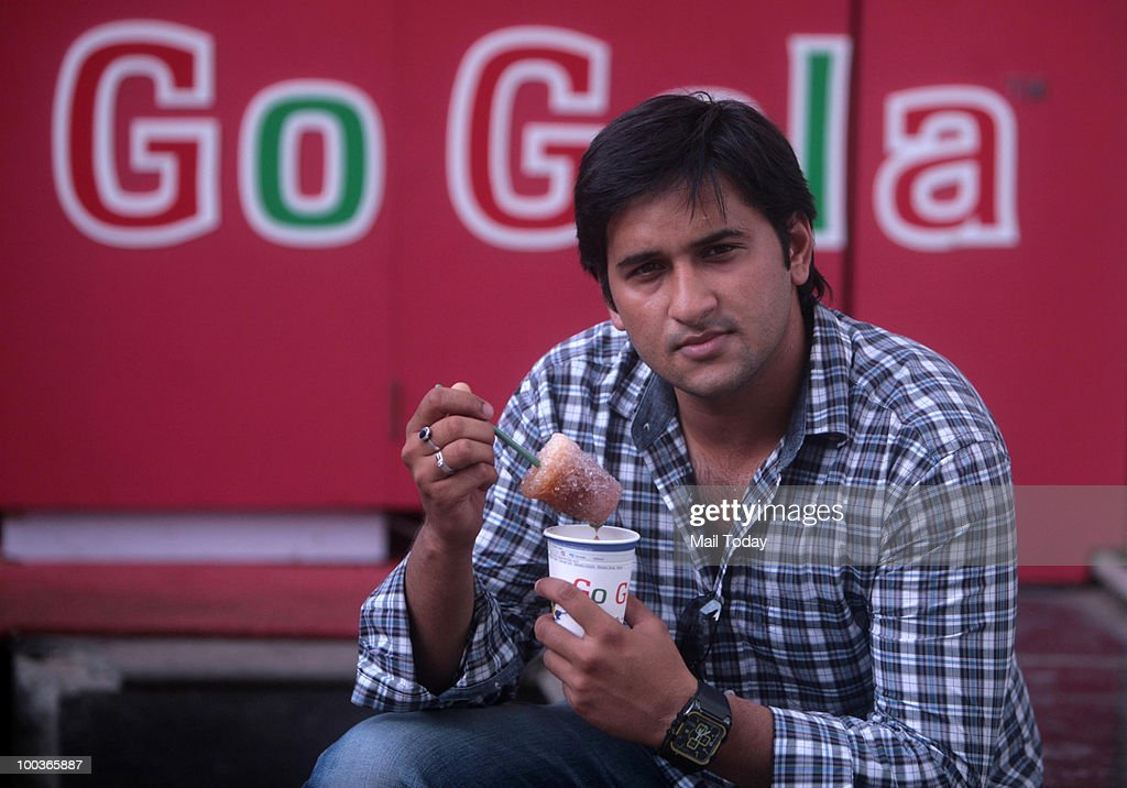 Founder of Go Gola Sachin Jain poses for a picture in Mumbai on May 23, 2010.