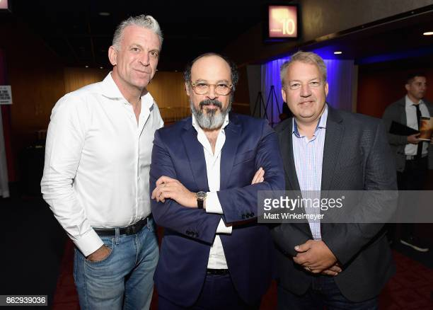 Founder of Helical Holdings Dylan Ratigan Chief Creative Officer VICE Eddy Moretti and Global Director of Connected Vehicles and Emerging Solutions...