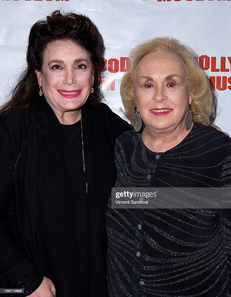 Founder of Hollywood Museum <a gi-track='captionPersonalityLinkClicked' href=/galleries/search?phrase=Donelle+Dadigan&family=editorial&specificpeople=575567 ng-click='$event.stopPropagation()'>Donelle Dadigan</a> (L) and actress <a gi-track='captionPersonalityLinkClicked' href=/galleries/search?phrase=Doris+Roberts&family=editorial&specificpeople=209247 ng-click='$event.stopPropagation()'>Doris Roberts</a> attends The Hollywood Museum's 'Loretta Young: Hollywood Legend' exhibit opening party at The Hollywood Museum on January 8, 2013 in Hollywood, California.