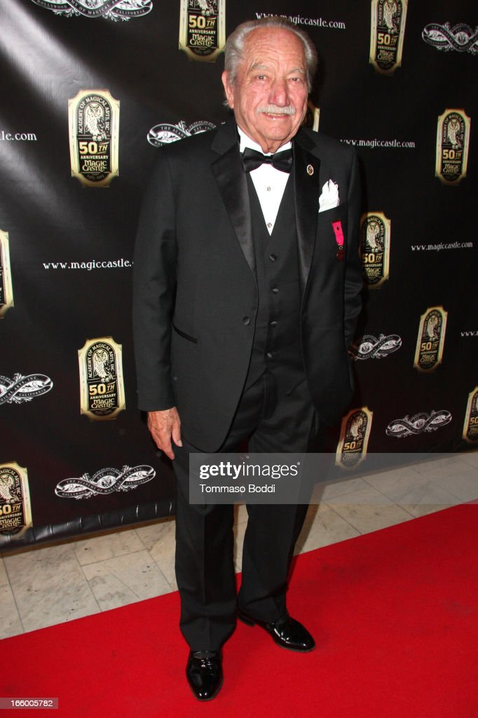 Founder of Hollywood's Magic Castle Milt Larsen attends the Academy Of Magical Arts 45th Annual AMA Awards Show held at the Orpheum Theatre on April 7, 2013 in Los Angeles, California.