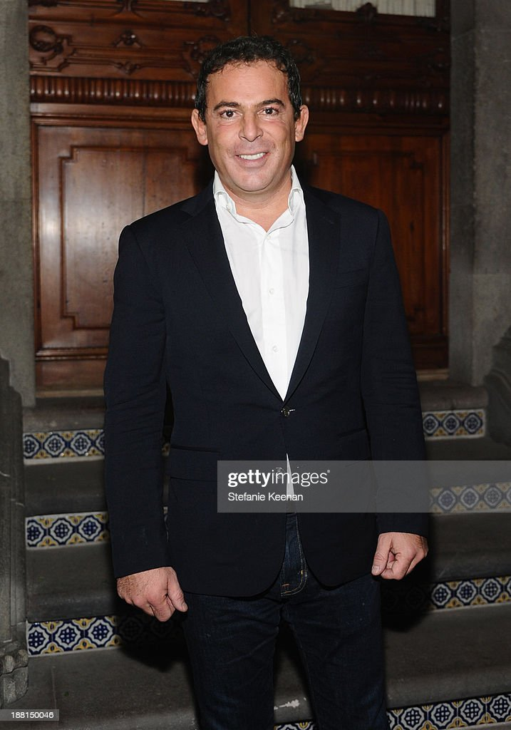 Founder of Jumex Foundation Eugenio Lopez attends Museo Jumex Opening welcome dinner at Casa De La Bola on November 15, 2013 in Mexico City, Mexico.