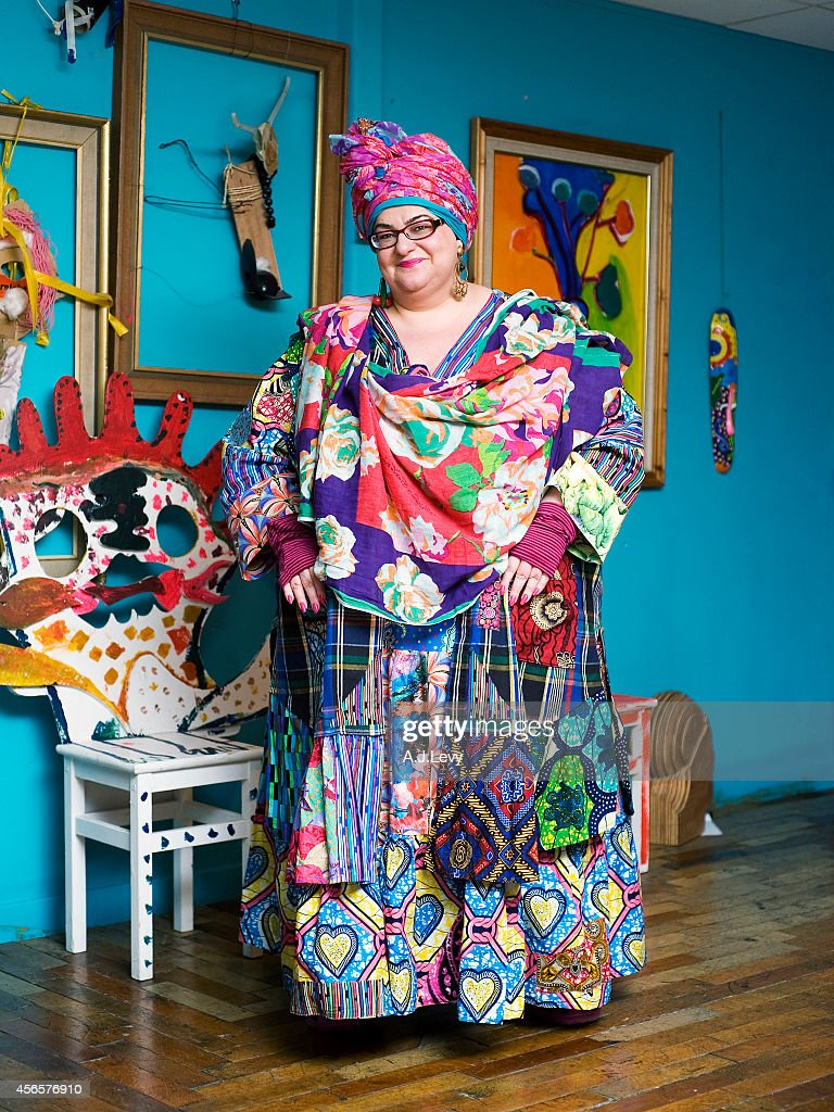 Founder of Kids Company, Camila Batmanghelidjh is photographed for Independent in London, England.