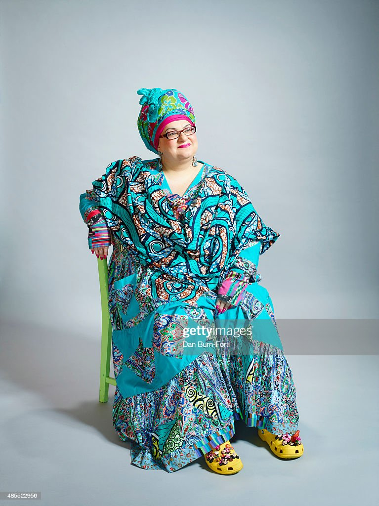 Founder of Kids Company Camila Batmanghelidjh is photographed for the Independent on September 30, 2014 in London, England.