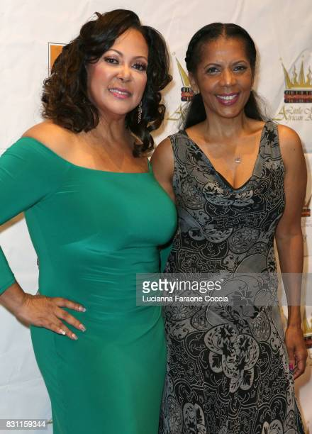 Founder of Little Miss African American Pageant/actor Lisa Ruffin and actor Penny Johnson Jerald attend the 42nd Little Miss African American...