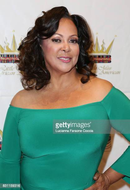 Founder of Little Miss African American Pageant/actor Lisa Ruffin attends the 42nd Little Miss African American Scholarship Pageant at Barnsdall Art...