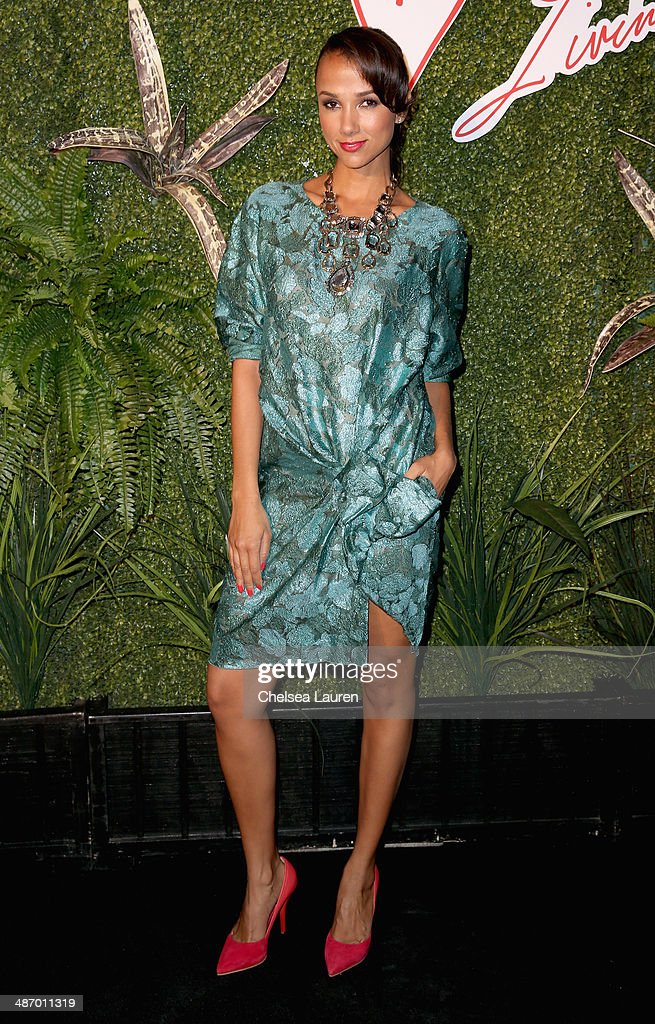 Founder of Living Beauty Amie Satchu attends Lanvin And Living Beauty Host An Evening Of Fashion on April 26, 2014 in Beverly Hills, California.