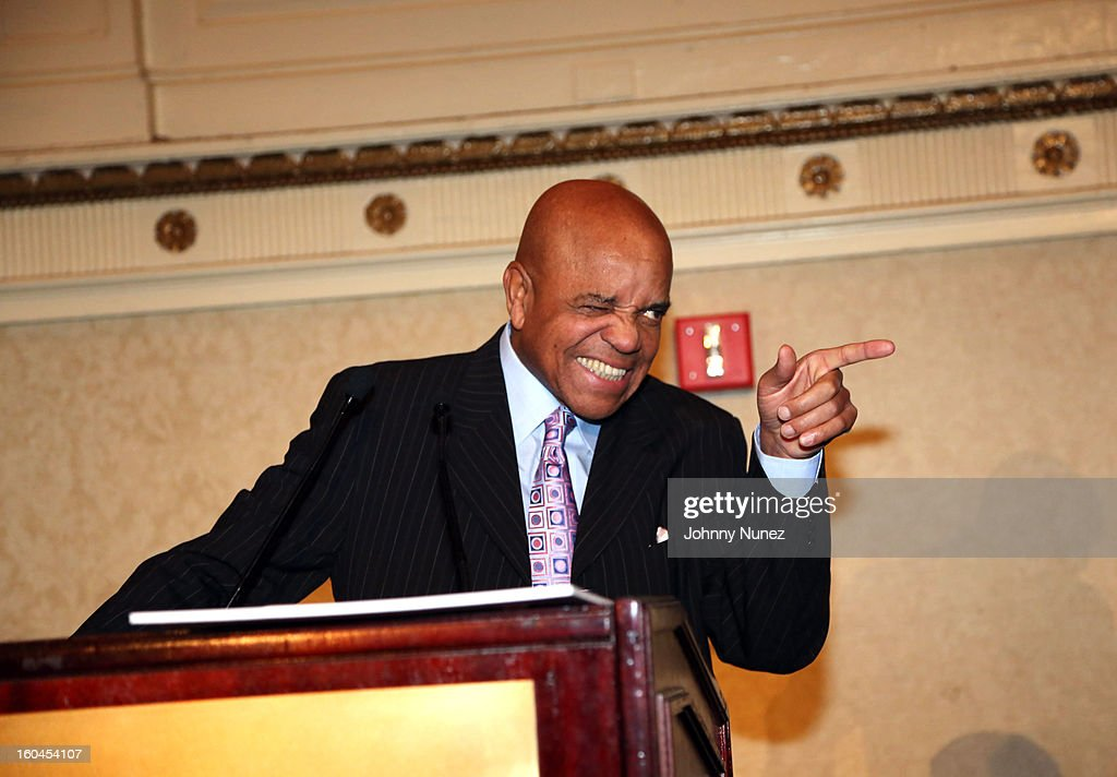 Founder of Motown Records Berry Gordy is honored at The 16th Annual Wall Street Project 'Access To Captial' Luncheon at The Roosevelt Hotel on January 31, 2013, in New York City.