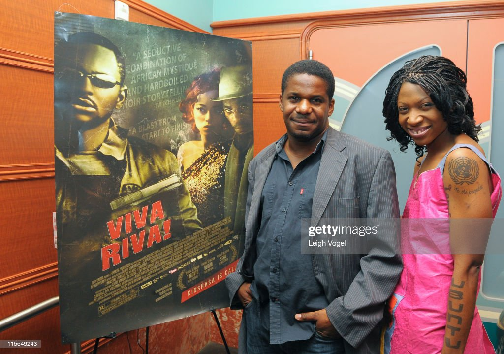 Founder Of New African Empower Suzanne Africa Engo Attends Screening Of MTV MOVIE AWARD Winner For African Movie VIVA RIVA! With Director Djo Munga