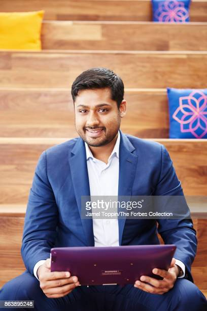 Founder of Outcome Health Rishi Shah is photographed for Forbes Magazine on June 1 2017 in New York City CREDIT MUST READ Jamel Toppin/The Forbes...
