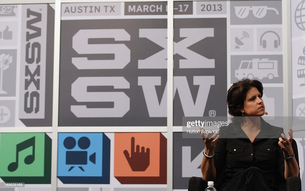 Founder of OUYA Julie Uhrman speaks onstage at the Julie Uhrman + Josh Topolsky Keynote during the 2013 SXSW Music, Film + Interactive Festival at Austin Convention Center on March 11, 2013 in Austin, Texas.