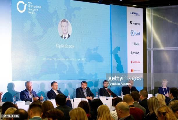 Founder of PJSC 'Myronivsky Hliboproduct' Yuriy KosyukCEO of the IMC President of the Association «Ukrainian Agribusiness Club» Alex LissitsaThe...