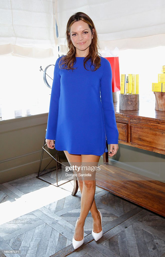 Founder of Rodial Skincare Maria Hatzistefanis attends the Rodial 10th Anniversary Luncheon on April 2, 2013 in West Hollywood, California.