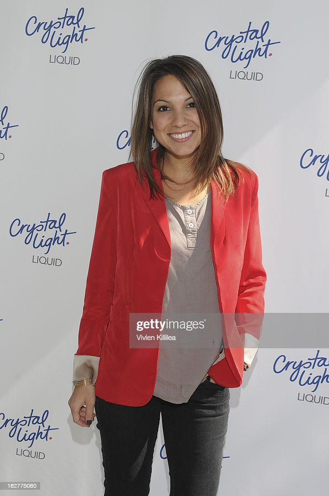Founder of Simply Stylist Sarah Pollock Boyd attends Giuliana Rancic And Crystal Light Liquid Toast Red Carpet Style at SLS Hotel on February 26, 2013 in Los Angeles, California.