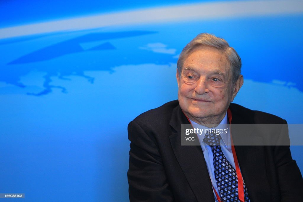 Founder of Soros Fund Management LLC <a gi-track='captionPersonalityLinkClicked' href=/galleries/search?phrase=George+Soros&family=editorial&specificpeople=212841 ng-click='$event.stopPropagation()'>George Soros</a> attends the Boao Forum for Asia on April 8, 2013 in Qionghai, Hainan Province of China. State and government leaders from Asia and other regions have been invited to attend three-days of economic meetings for the annual Boao Forum for Asia in Boao, a coastal town in south China's Hainan Province.