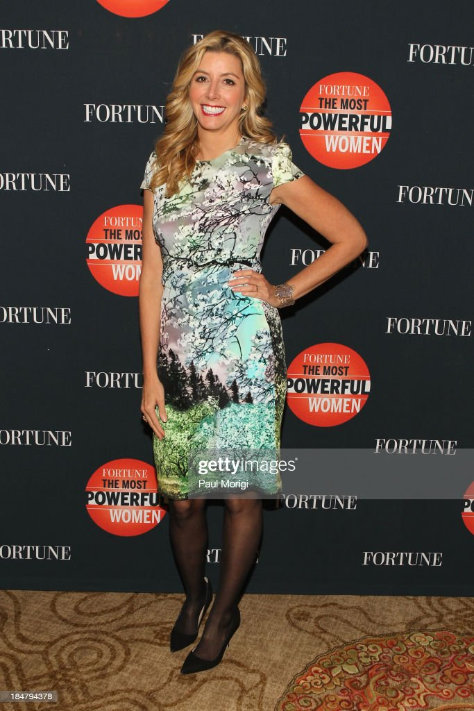 Founder of Spanx <a gi-track='captionPersonalityLinkClicked' href=/galleries/search?phrase=Sara+Blakely&family=editorial&specificpeople=4439074 ng-click='$event.stopPropagation()'>Sara Blakely</a> attends the FORTUNE Most Powerful Women Summit on October 16, 2013 in Washington, DC.