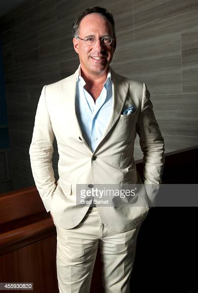 Founder of the Cinema Society Andrew Saffir poses for a portrait during The Daily Front Row's second annual Fashion Media Awards at the Park Hyatt on...