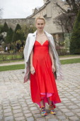 Founder of the concept store and cafe 'Kuznetskiy Most 20' Olga Karput on day 4 of Paris Collections Women on February 28 2014 in Paris France