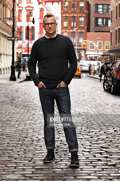 Founder of the denim line 3x1 Scott Morrison is photographed for GQ Taiwan on November 11 2011 in New York City